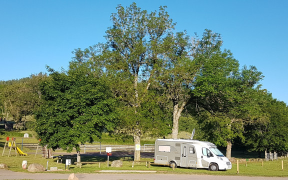 Sites for motorhomes